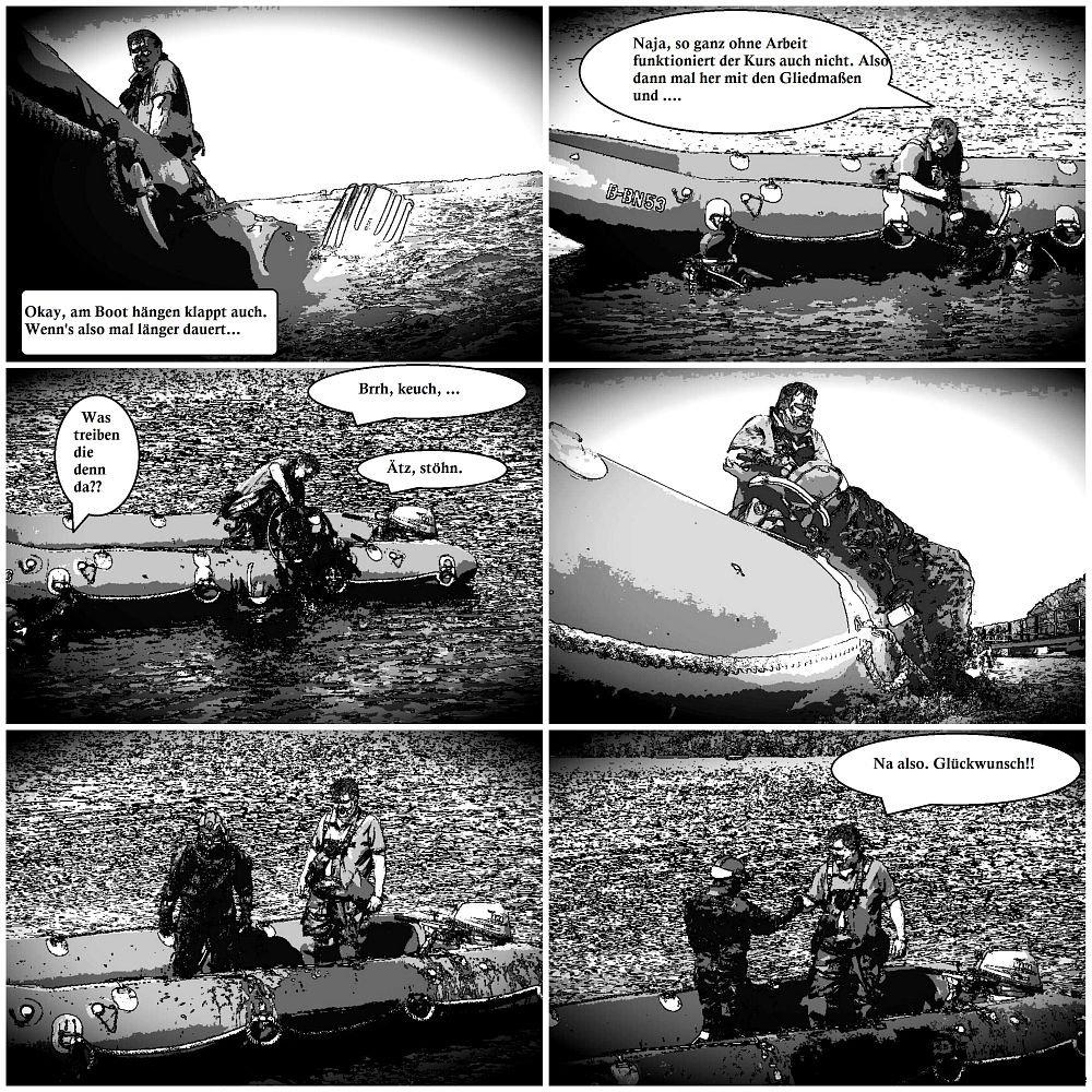Tauchen vom Boot (2)